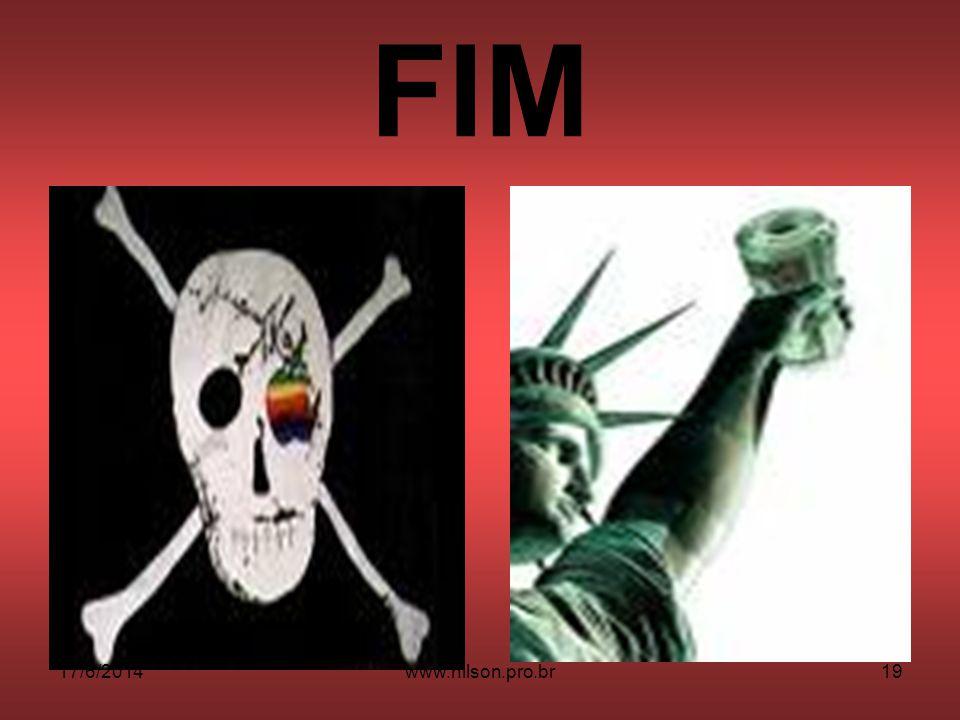 FIM 17/6/201419www.nilson.pro.br