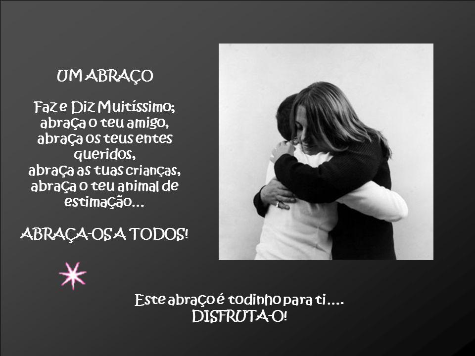 O ABRAÇO SALVADOR Esta é uma fotografia de um artigo das «Selecções», que se chama O abraço salvador e relata um episódio da vida de duas gémeas, cujo