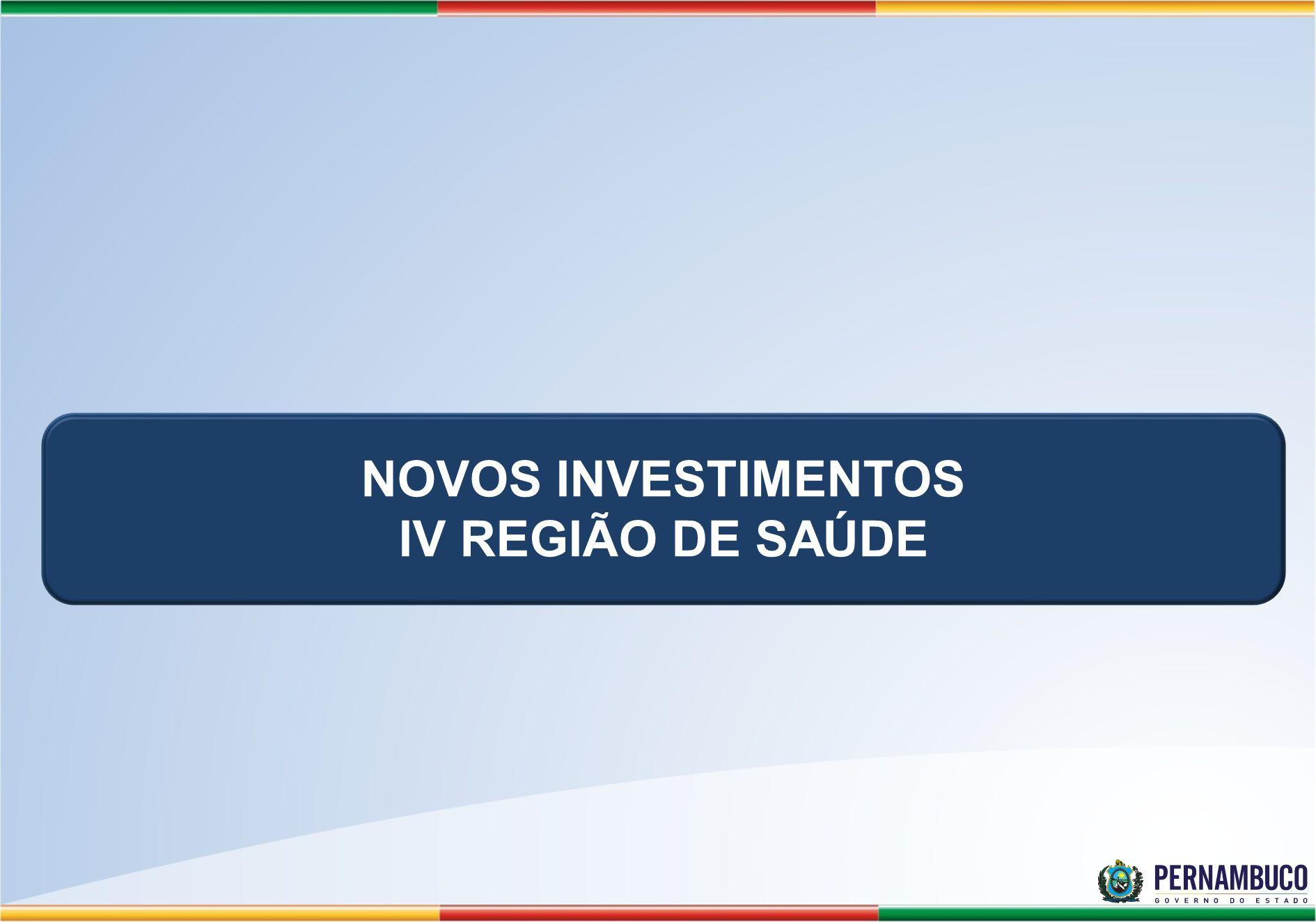 UPAE Caruaru Investimento R$ 22.656.322,04 Obra: R$ 14.456.322,04 Equipamentos R$ 8.200.000,00