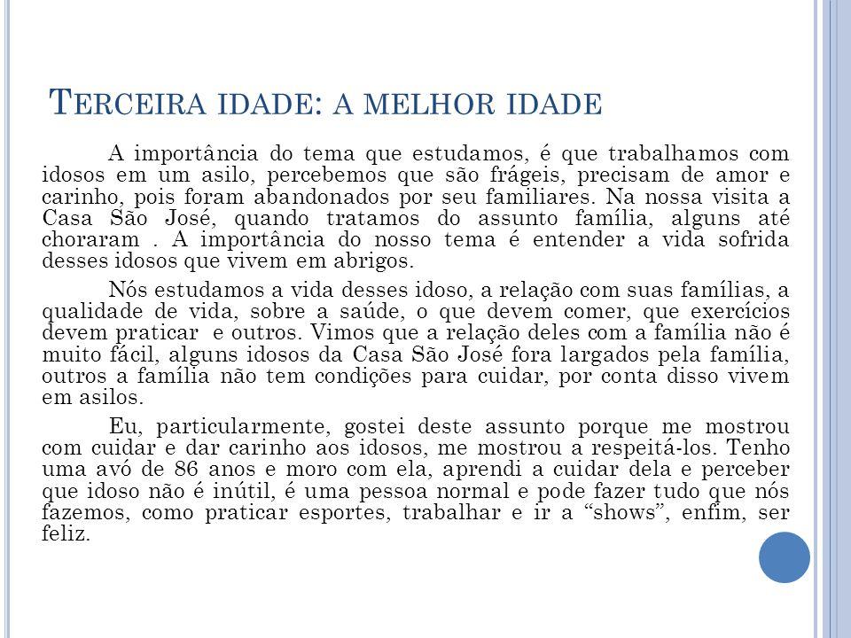 U M POUCO SOBRE MIM Meu nome é Iara Carvalho Galvão, nasci no 04 de outubro de 2002, na maternidade do bairro Buenos Aires, as 6:30 da noite.