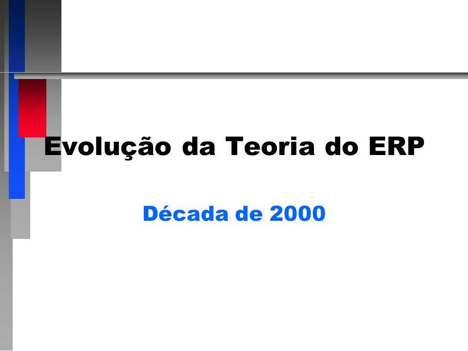 Evolução da Teoria do ERP Década de 2000