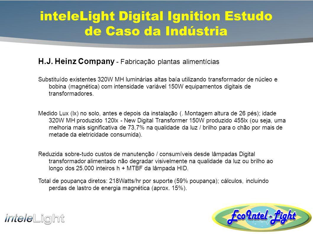 inteleLight Digital Ignition Transformer Soluções fixture 200W/250W Low-bay/High-bay 575W High-bay Dimming Control 45% + Economia de Energia Ao longo HID magnética ROI Muito Curto