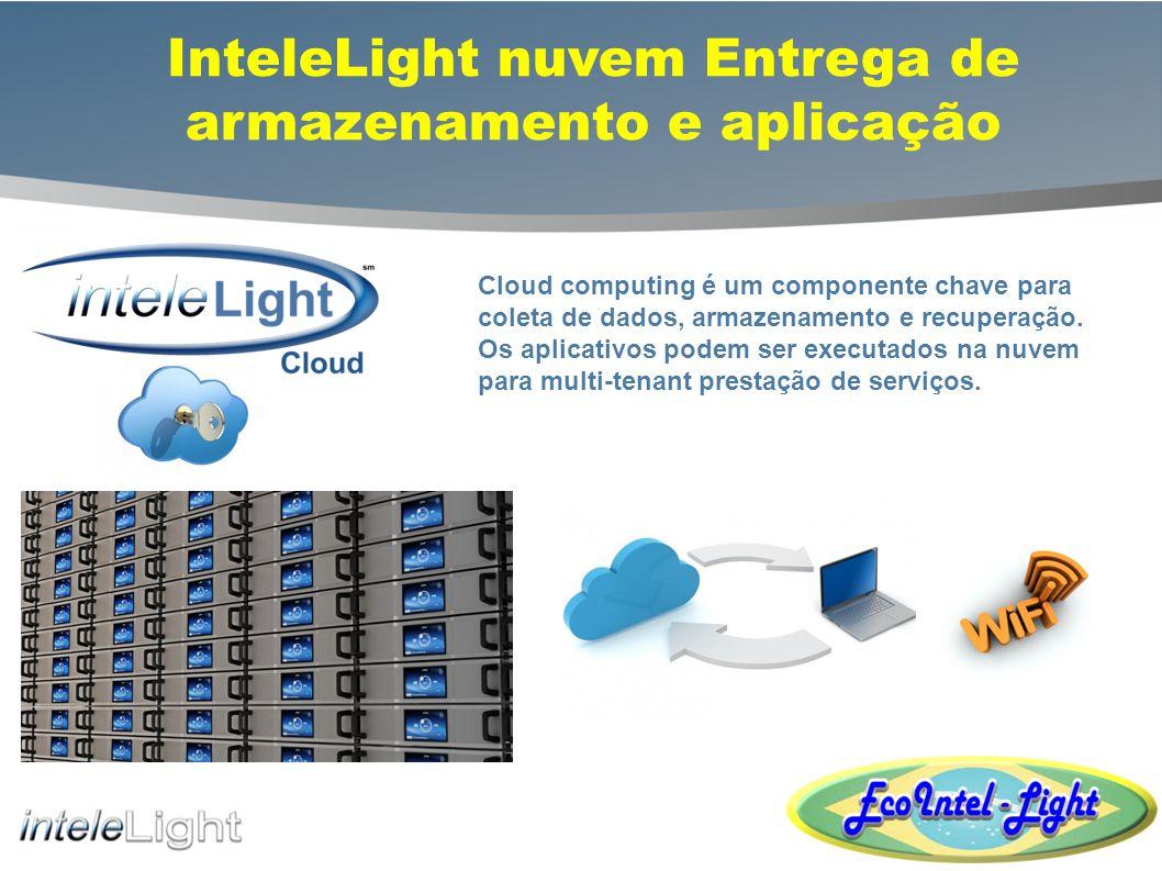 inteleLight aplicação Soluções de Software de Gestão de Software personalizável Os aplicativos projetados para gerenciar certos aspectos do sistema inteleLight podem ser hospedados internamente através de uma nuvem privada, externamente, através de uma nuvem pública em centros seguros de DLS de dados, ou um híbrido, melhores-de-dois- mundos de configuração.