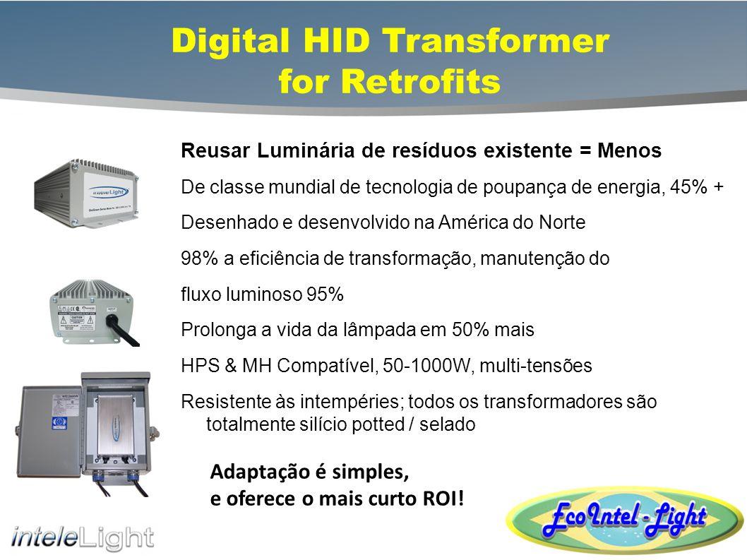 DHID Retrofit Transformers Replace Transformer, Keep Fixture Retrofit externas Retrofit internos