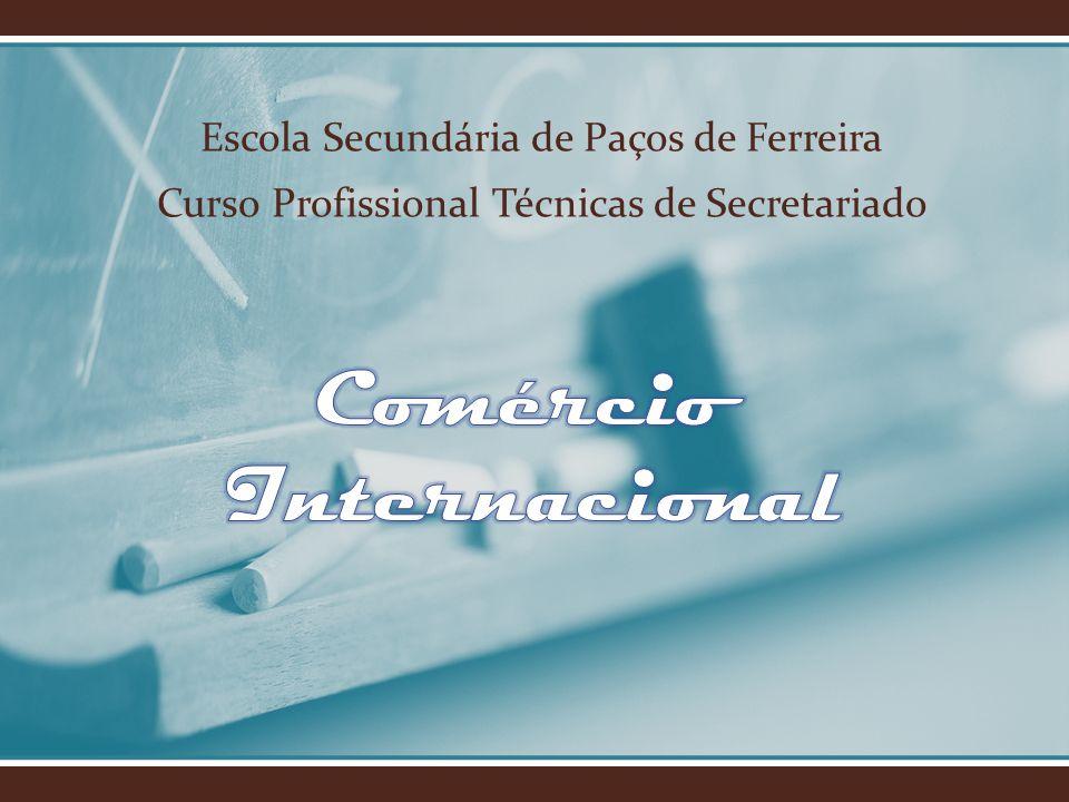 Comércio Internacional Comércio Internacional - é o comércio entre os países compreendem tanto a exportação quanto a importação.