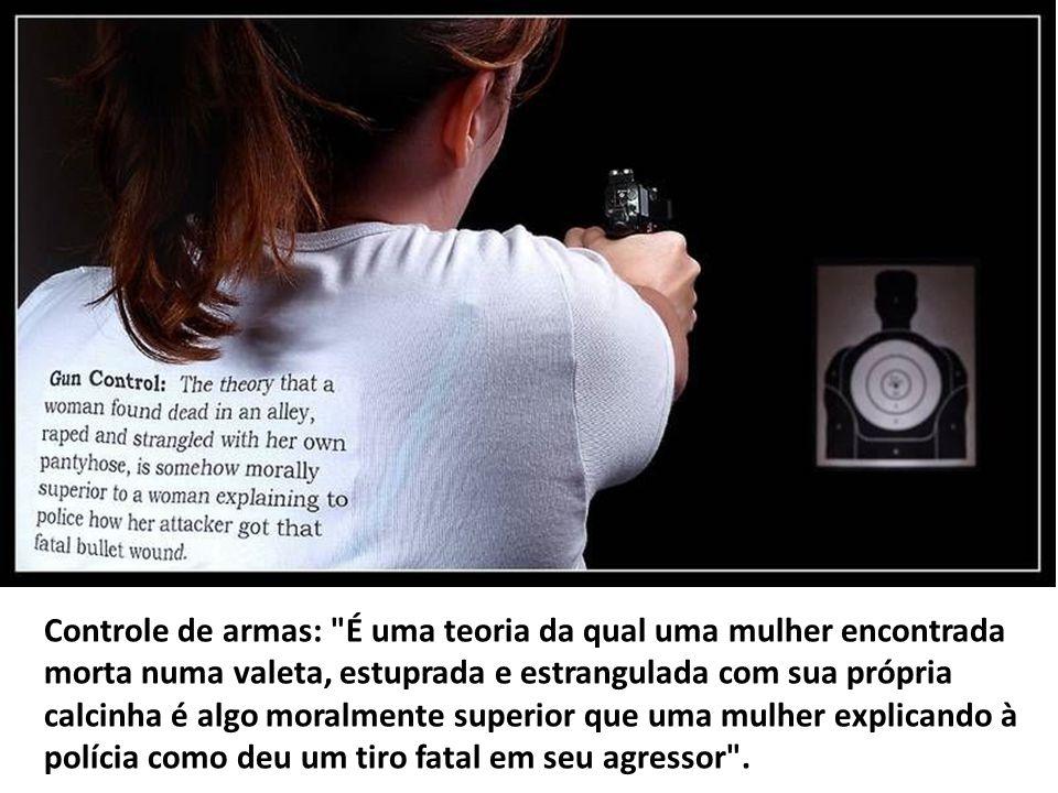 Controle de armas: