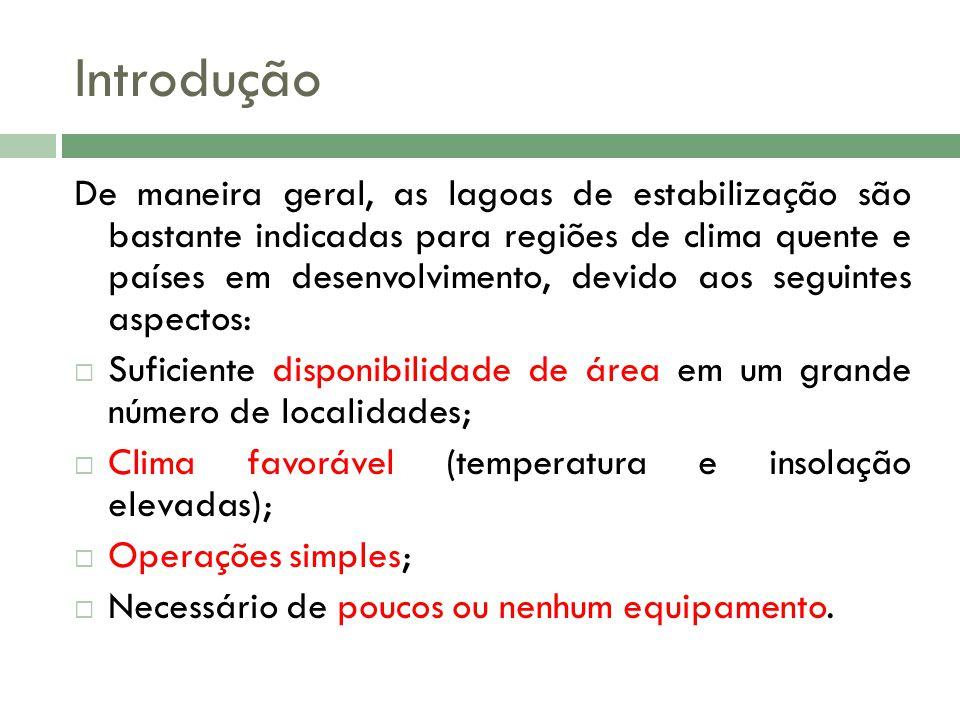 Bibliografia Lagoas de estabilização, volume 3, Marcos Von Sperling 2ª Edição Ampliada; 2ª 2006.