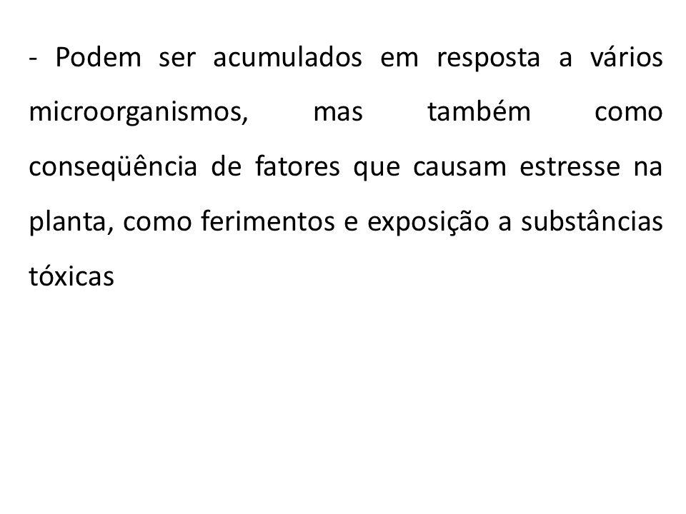 FITOALEXINAS – COMO SÃO GERADAS.