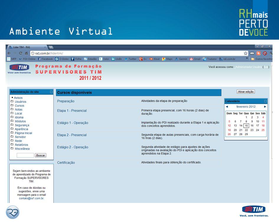 Preparação Ambiente Virtual de Aprendizagem – Dados e Fotos Perfil comportamental DISC Sobre Liderança Fundamentos de Liderança – Coração Valente Desa