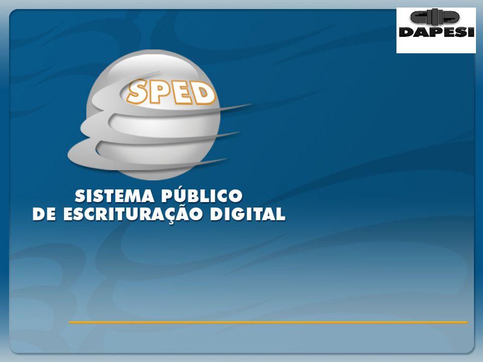 Sistema Público de Escrituração Digital PLANO DE CONTAS REFERENCIAL É um plano de contas, elaborado com base na DIPJ.