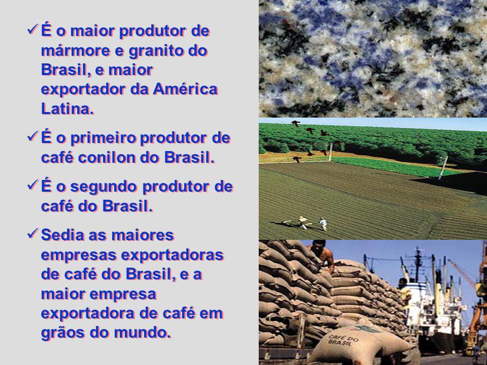 Possui o maior alto forno siderúrgico do Hemisfério Sul. É o segundo produtor de aço bruto do Brasil. Possui o maior complexo de pelotização do mundo.
