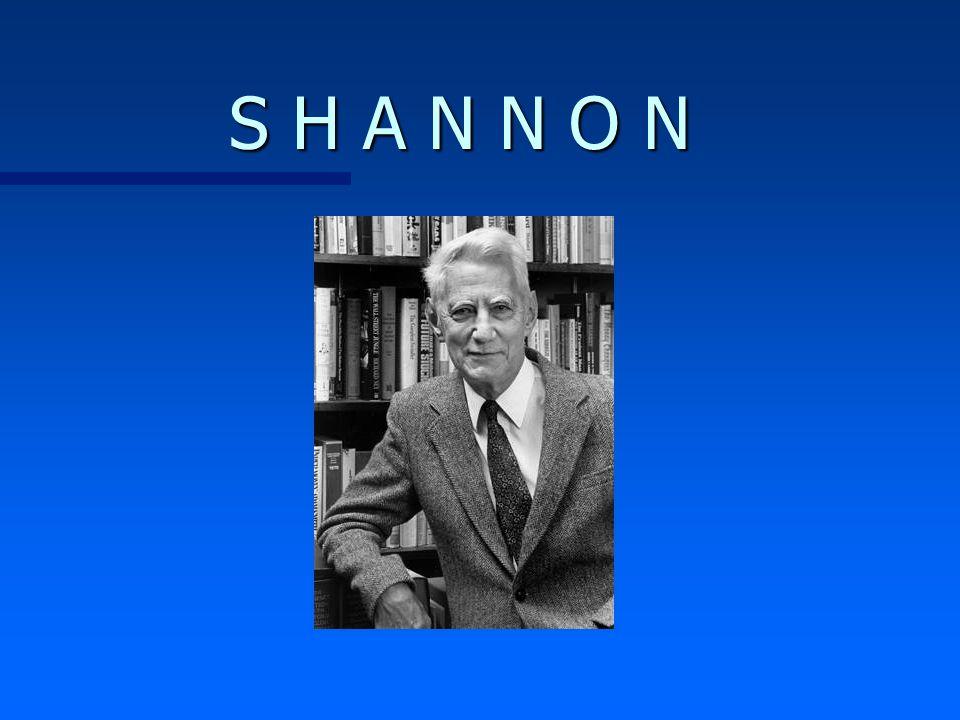 Tópicos Gerais : n Informação n Quantidade de Informação n Entropia n Banda de Transmissão n Ruído n Capacidade de Canal ( Shannon )