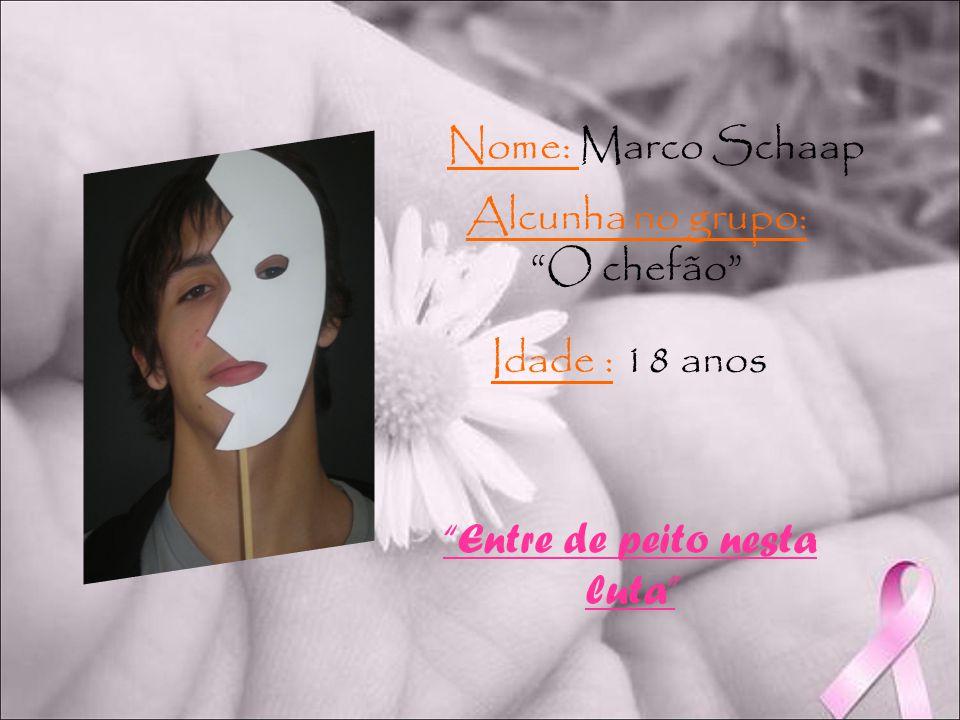 Nome: Maria Inês Sena Alcunha no grupo: A Tigresa extrema Idade : 17 anos Eles lutaram e você