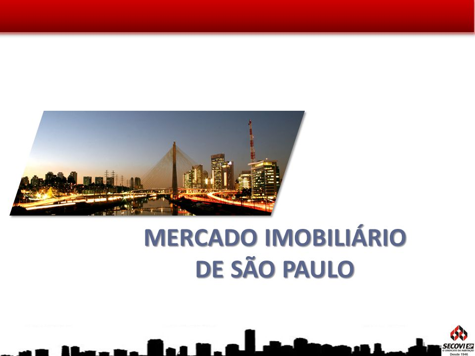 MERCADO IMOBILIÁRIO DE SÃO PAULO