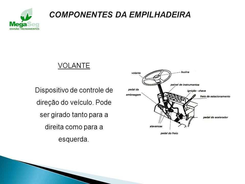 CARCAÇA OU CHASSI É a estrutura metálica, geralmente em chapa de aço, que serve de contrapeso para a carga e de proteção para vários componentes da em