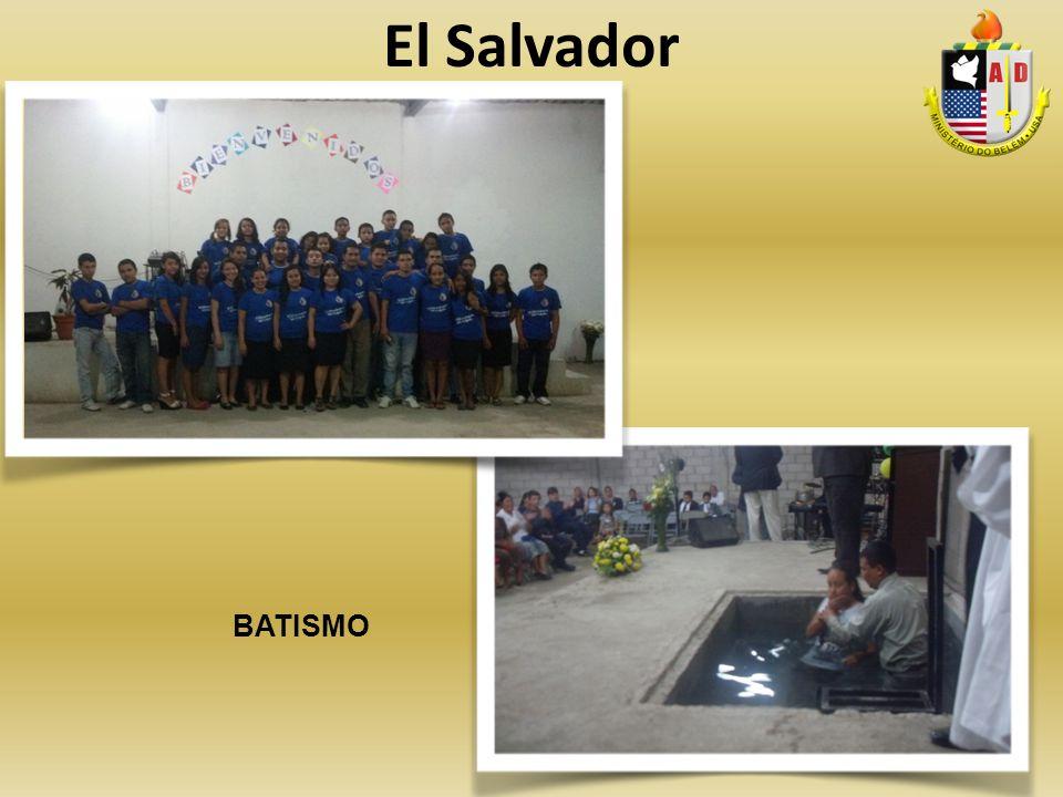 El Salvador BATISMO