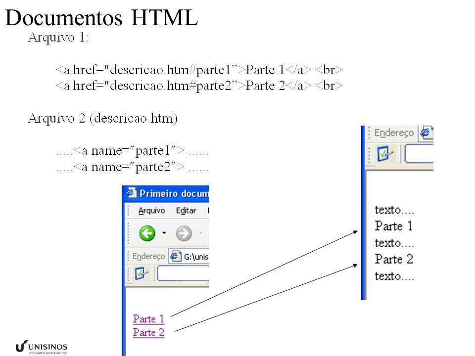 Documentos HTML