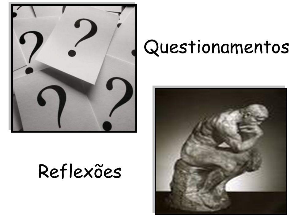 Questionamentos Reflexões