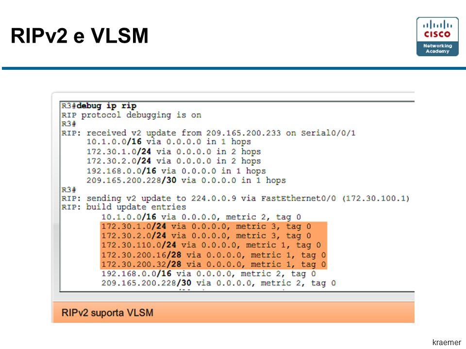kraemer RIPv2 e VLSM
