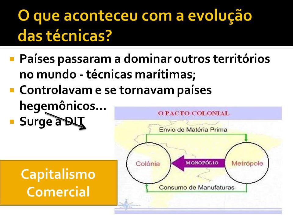 Revolução industrial; Concentração de riquezas; Balança comercial.