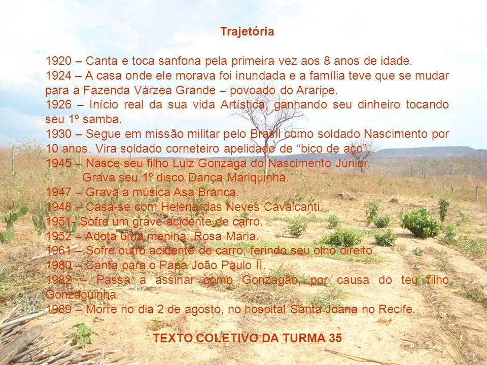 Nome completo Luiz Gonzaga do Nascimento Data de nascimento 13/12/1912 Local onde nasceu Fazenda de Caiçara, cidade de Exu, Pernambuco.