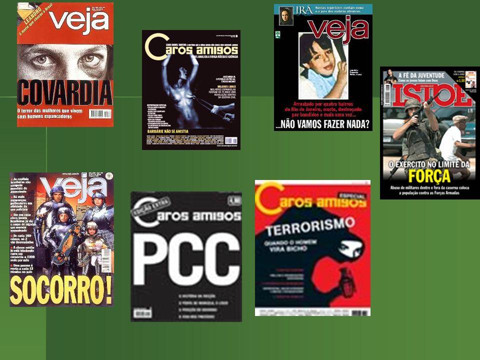 Interesses econômicos: A Mídia com a Celebração da Violência – em 1 semana 1.211 crimes exibidos – – em 1 semana 1.211 crimes exibidos – gera insegura