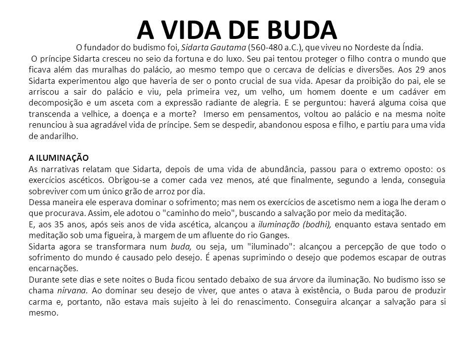 DIVISÕES DO BUDISMO A THERAVADA, (Doutrina dos Antigos) que não admite uma divindade pessoal, mas sim uma realidade última impessoal a que o Buda teria tido acesso em sua Iluminação.