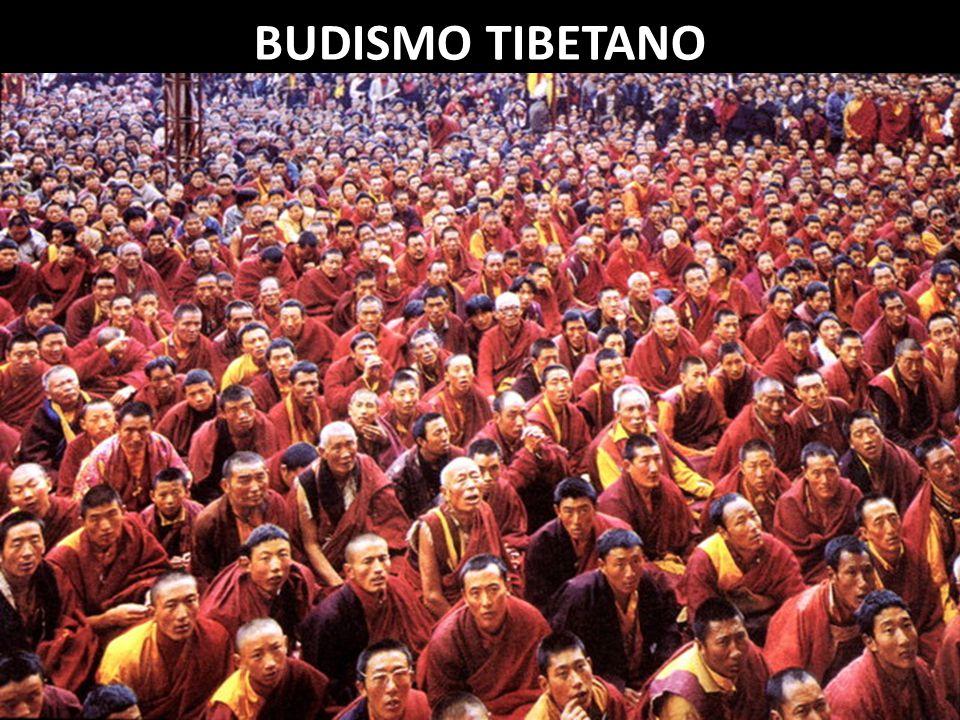 DIVISÕES DO BUDISMO BUDISMO TIBETANO No Tibet, o budismo se incorporou à religião local, denominada Bon.