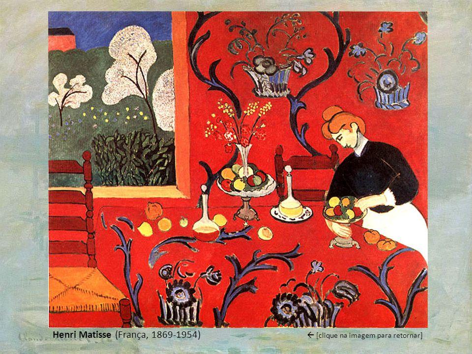 Henri Matisse (França, 1869-1954) [clique na imagem para retornar]
