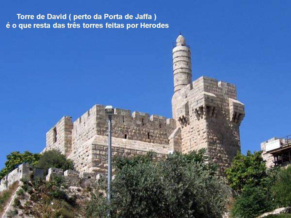 Porta de Jaffa na muralha de Jerusalém