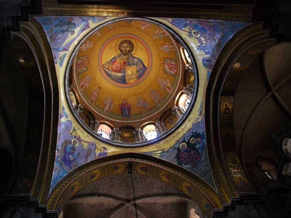 Interior de la Igreja do Santo Sepulcro