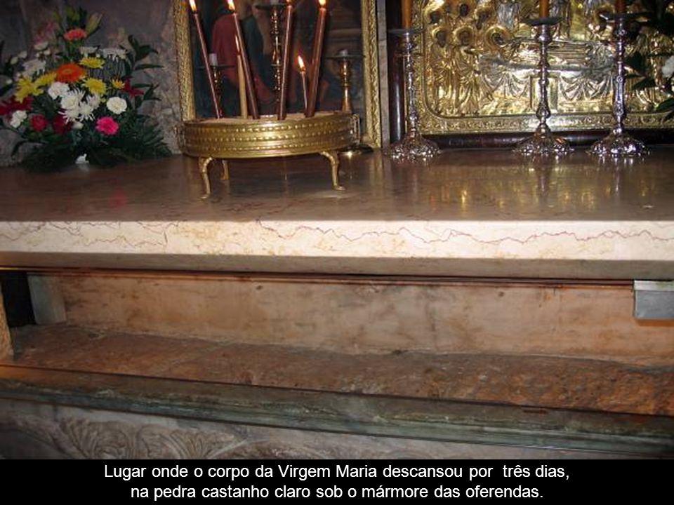 Entrada da tumba da Virgem Maria Jerusalém