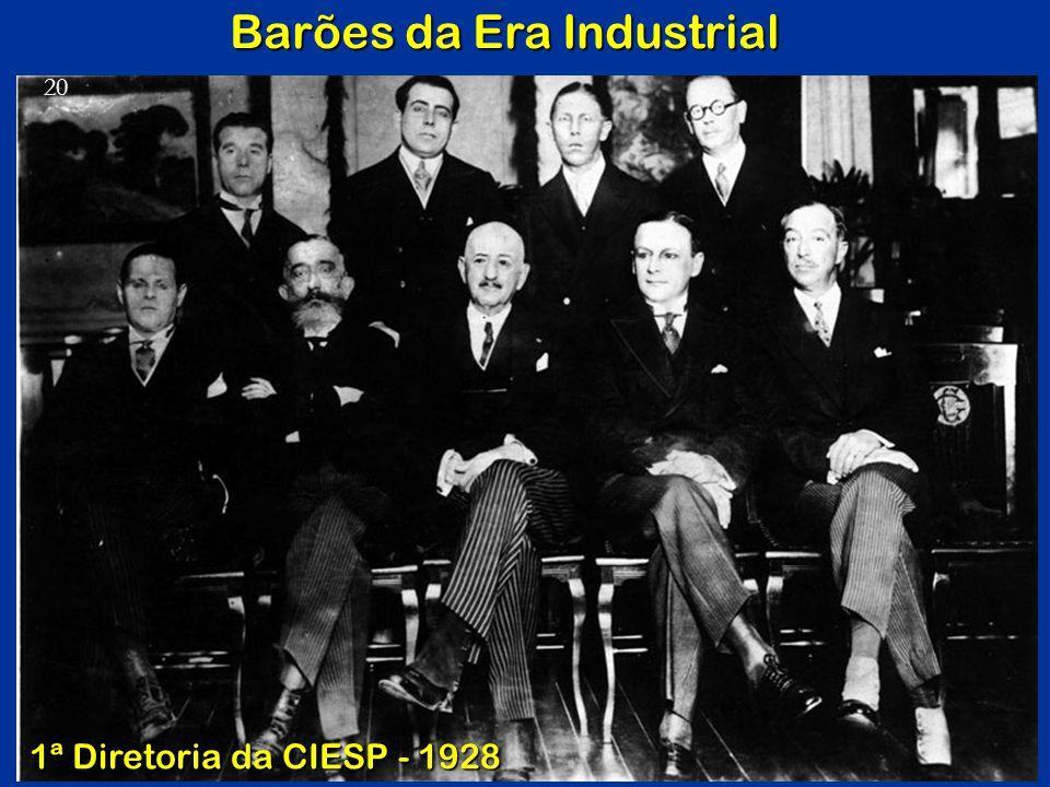 Barões da Era Industrial 1ª Diretoria da CIESP - 1928 20