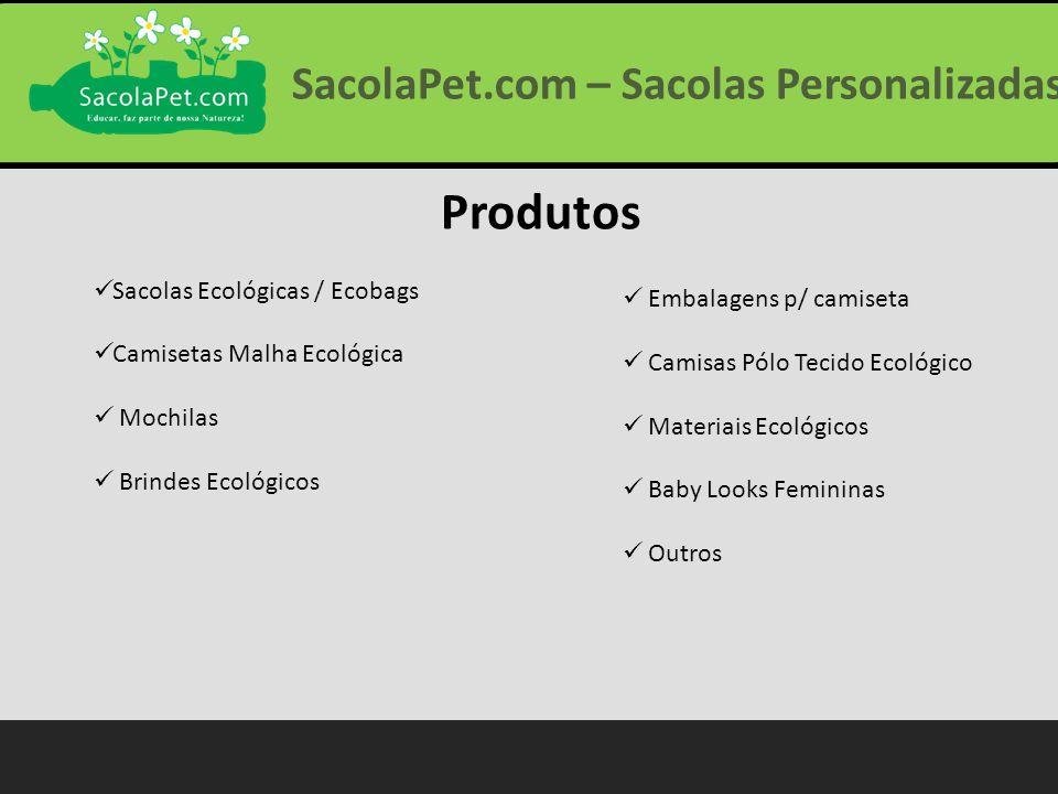 Produtos Sacolas Ecológicas / Ecobags Camisetas Malha Ecológica Mochilas Brindes Ecológicos Embalagens p/ camiseta Camisas Pólo Tecido Ecológico Mater