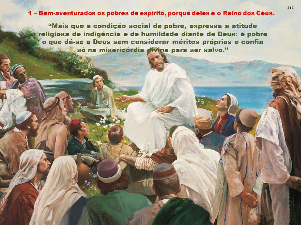 Caríssimos, O Sermão da Montanha ocupa integralmente os caps.