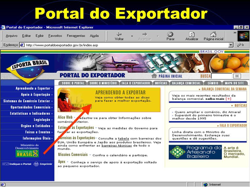 Portal do Exportador