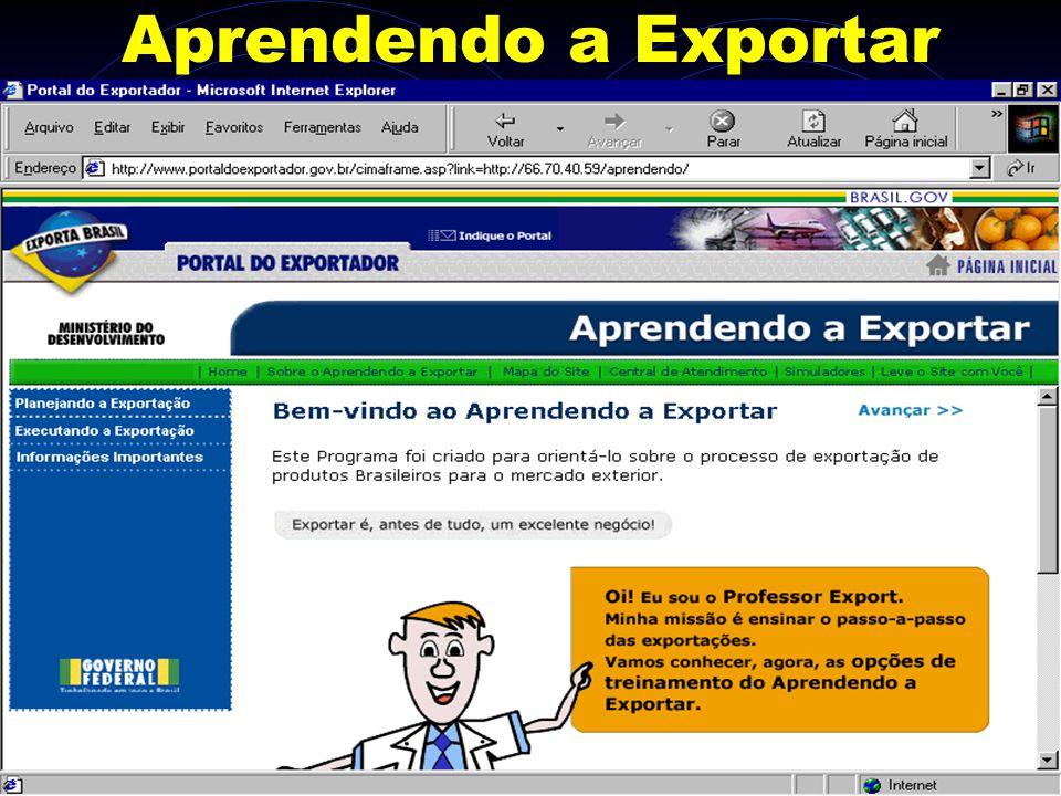 Aprendendo a Exportar