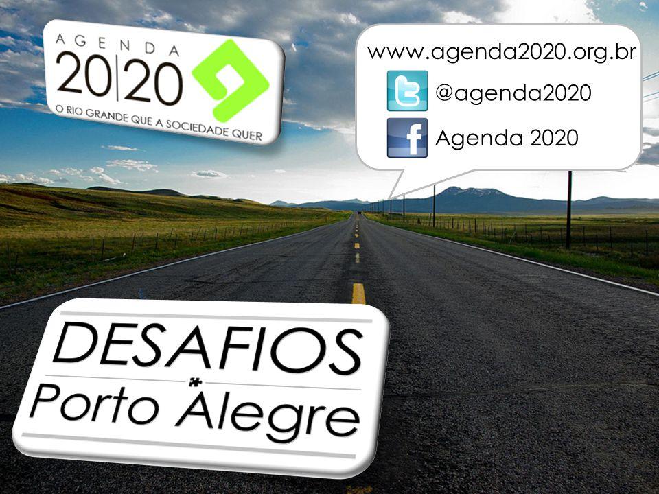 www.agenda2020.org.br @agenda2020 Agenda 2020