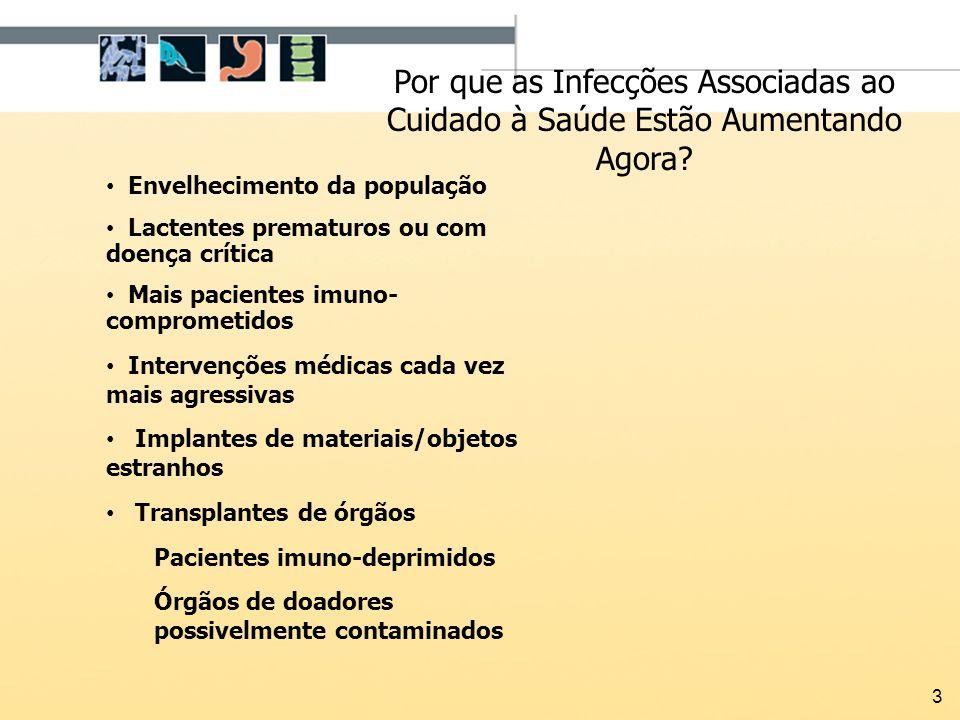 44 Usar á gua estéril ou soro (não água de torneira) ao trocar curativos estéreis Prevenção da ISC: Cuidado da Ferida Operatória Guideline for Prevention of Surgical Site Infection, 1999.