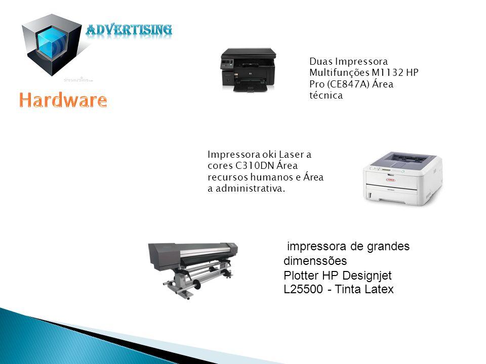 impressora de grandes dimenssões Plotter HP Designjet L25500 - Tinta Latex Impressora oki Laser a cores C310DN Área recursos humanos e Área a administ
