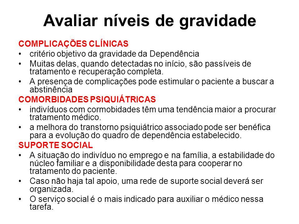 Tratamento da SAA nível II Internação hospitalar Cuidados gerais Repouso absoluto.