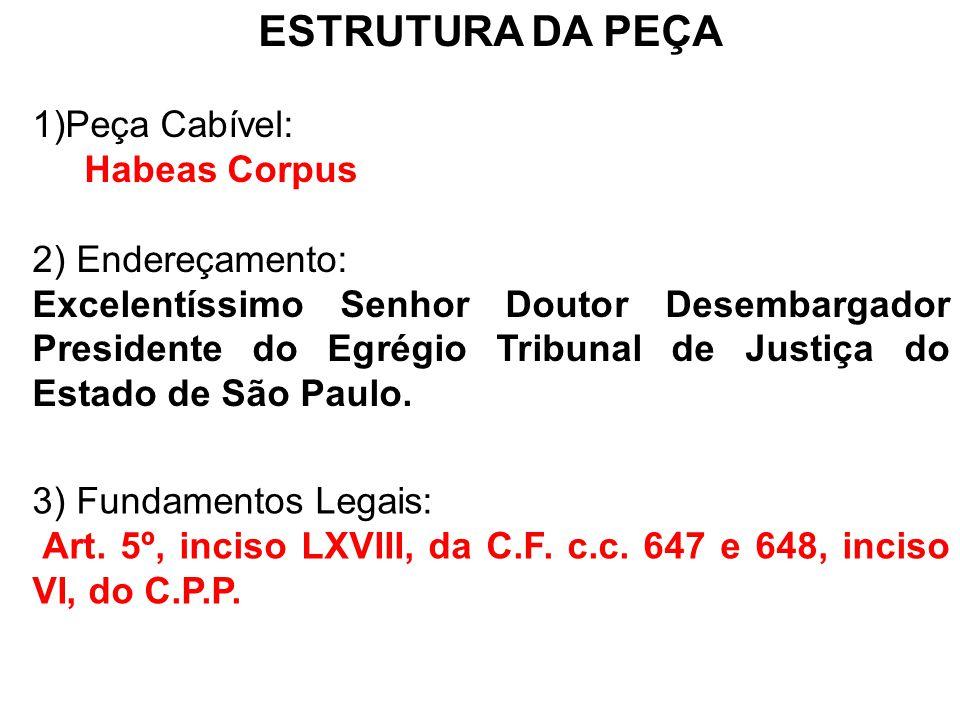 4) Pontos a serem abordados: O juiz ao sentenciar não observou as regras do artigo 384 do CPP, já que deveria ter aplicado a figura jurídica do Mutatio Libeli.