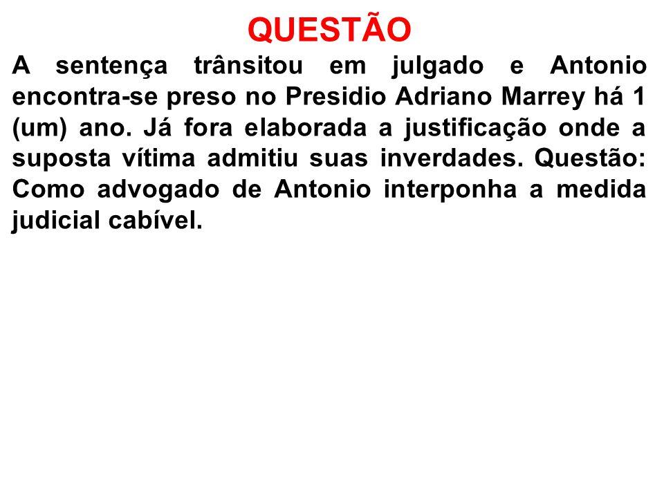 ESTRUTURA DA PEÇA 1)Endereçamento: Excelentíssimo Senhor Doutor Desembargador Presidente do Egrégio Tribunal de Justiça do Estado de São Paulo.