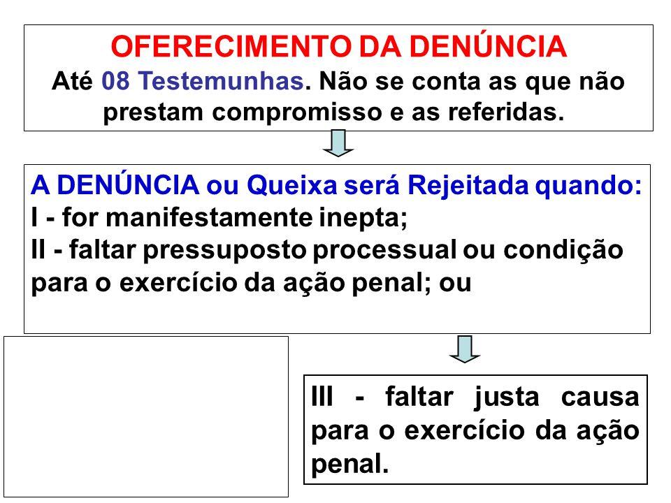 RECEBIMENTO DA DENÚNCIA O JUIZ IRÁ ORDENAR A CITAÇÃO do acusado para responder a acusação, por escrito, no prazo de 10 (dez) dias, a contar do cumprimento do mandado.