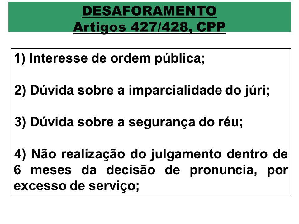 INSTRUÇÃO DO JULGAMENTO EM PLENÁRIO Prestado o compromisso pelos jurados, será iniciada a instrução plenária: 1) OFENDIDO, se possível; 2) TESTEMUNHAS DE ACUSAÇÃO; 3) TESTEMUNHAS DE DEFESA; 4) INTERROGATÓRIO.
