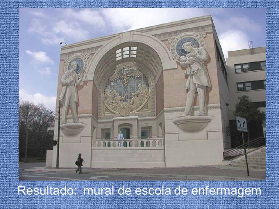 Resultado: mural de escola de enfermagem