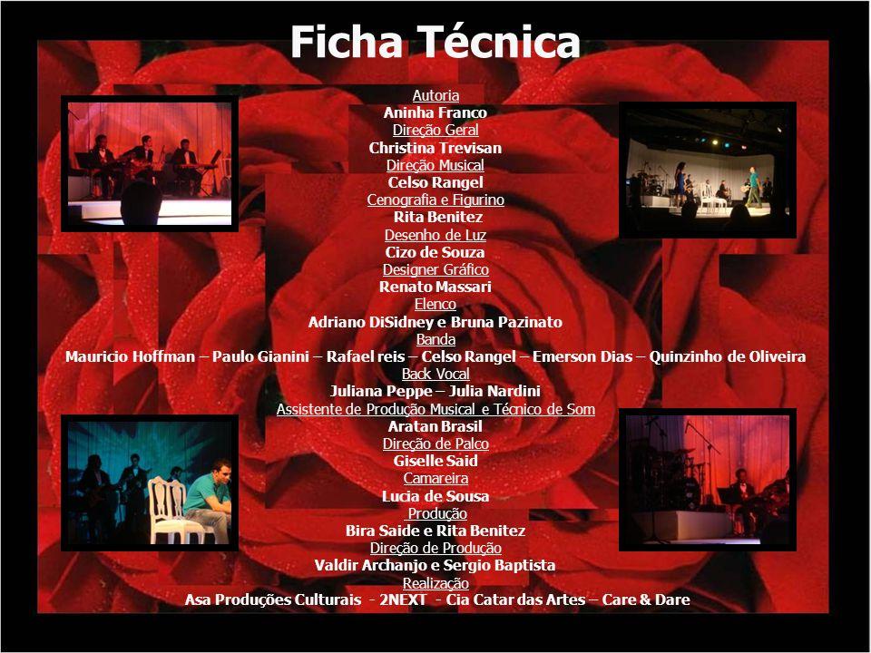 Público Alvo O espetáculo Quem Inventou o Amor Foi Roberto Carlos visa atingir dois públicos distintos: adultos e adolescentes a partir de 12 anos.
