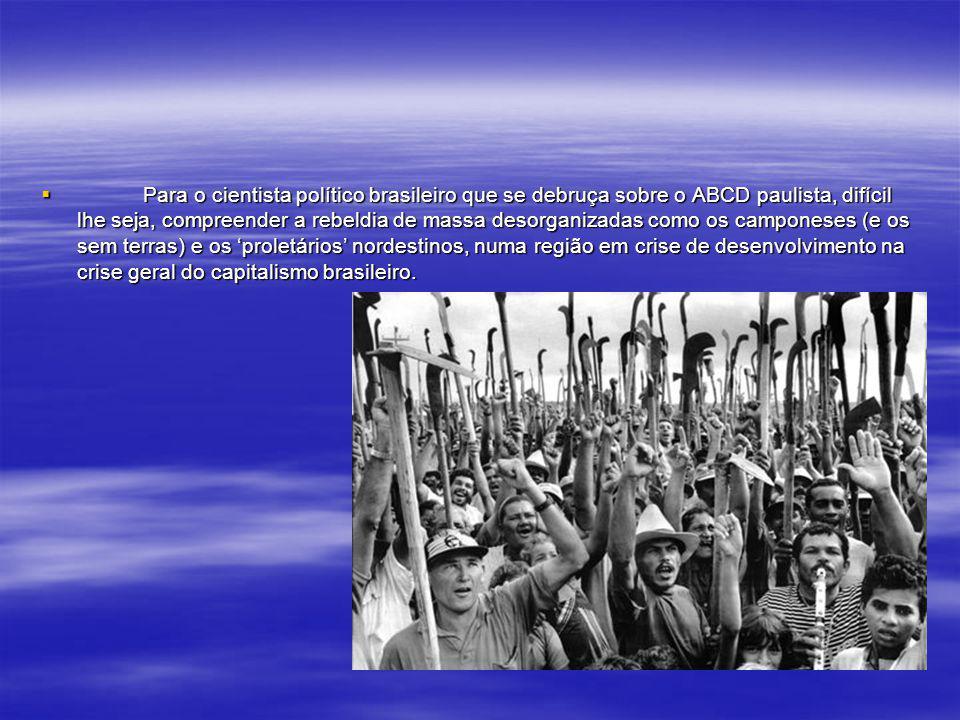 O pacto das elites que nos governa, no caso brasileiro (a democracia política) desde o Império cobra um preço altíssimo a nossa comunidade: a reproduç