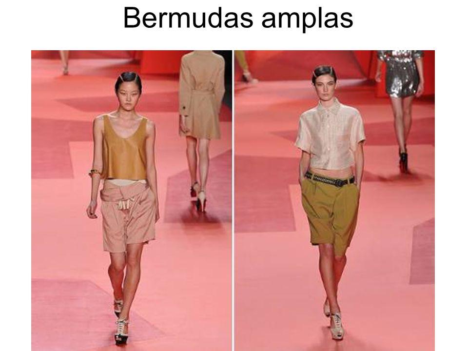 Bermudas amplas