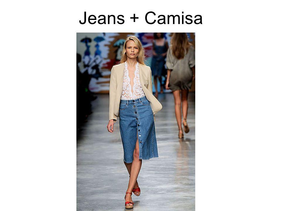 Jeans + Camisa